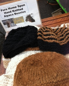 Alpaca wool beanies