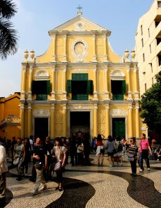 St Dominic's in Macau