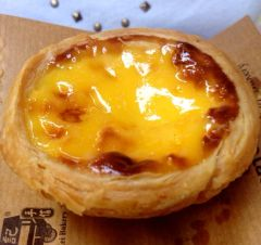 A delicious Portugese tart