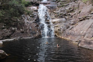 A swim in Chapada Diamantina