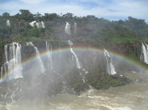 Iguaçu Falls on the Brazilian side