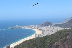 Rio beaches from Sugar Loaf