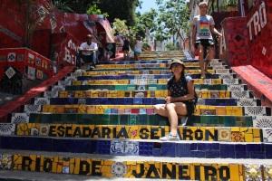 Lapa steps in Rio